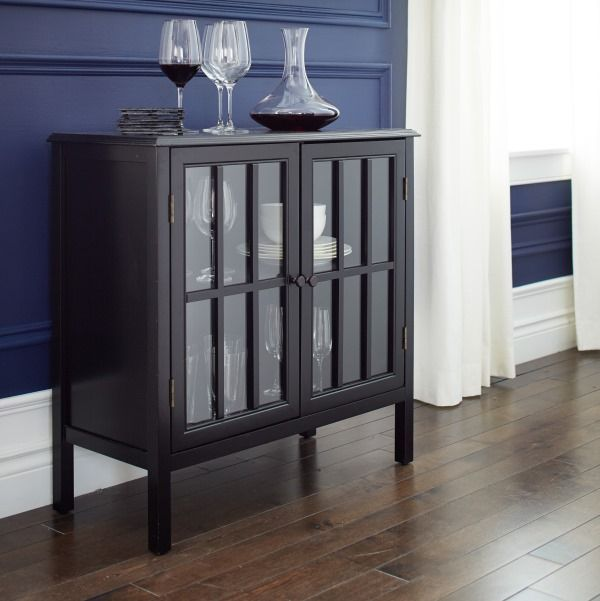 Dining Room Accent Pieces: The Versatile CANVAS Hadley 2-Door Cabinet Is The Perfect