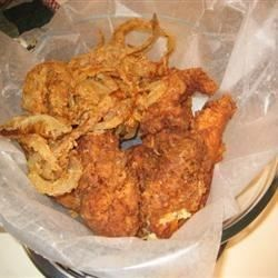 Recipes for deep fried fish fillets