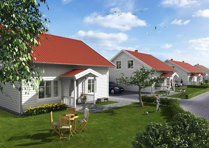 3D bild villa