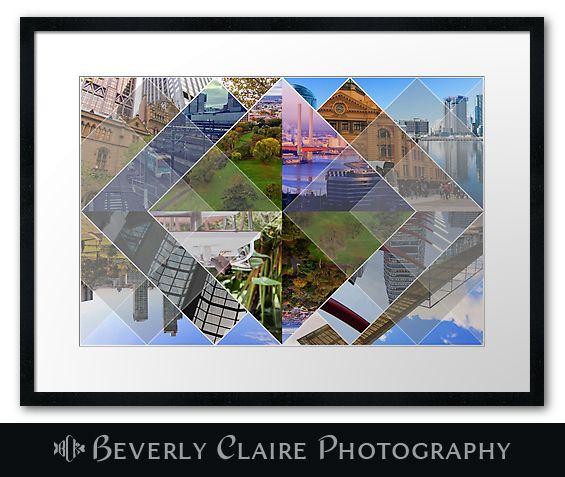 Melbourne World's Most Livable City Photomontage