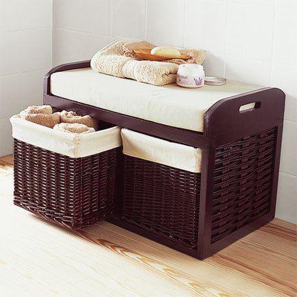 les 25 meilleures id es de la cat gorie banc salle de bain. Black Bedroom Furniture Sets. Home Design Ideas