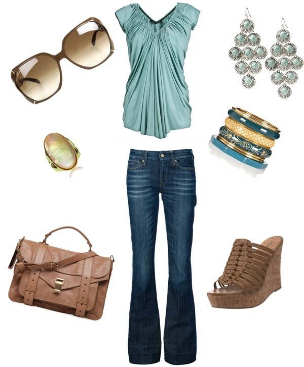 """casual weekend"" by megan-fleming-bertrand on Polyvore"