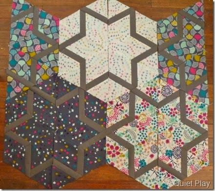 WiP Wednesday - Guest hosted by Kristy @ Quiet Play by Freshly Pieced