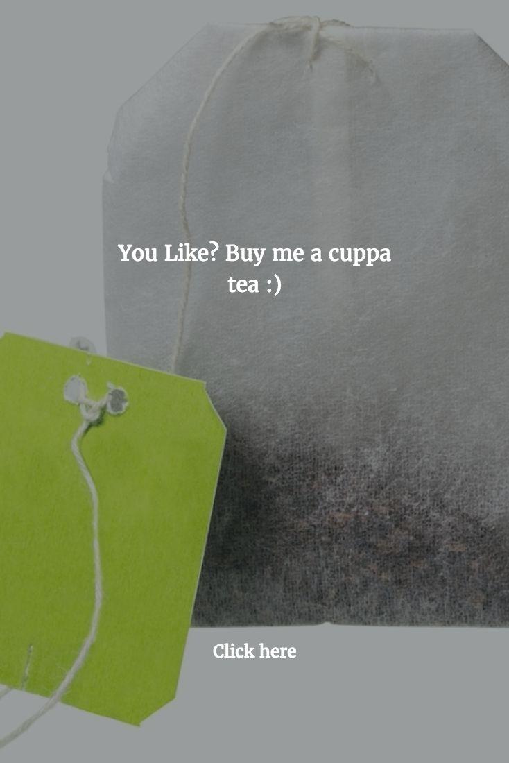 Help Us, Buy a Cuppa Tea.