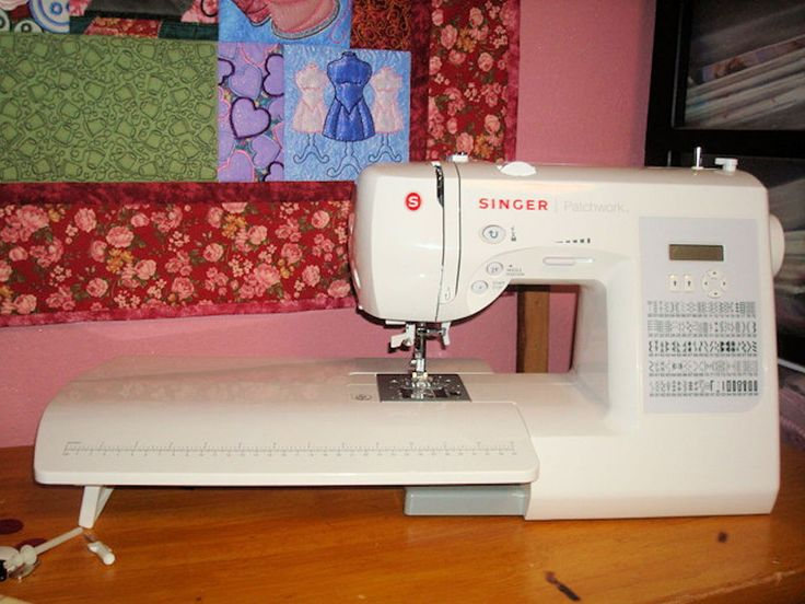 singer patchwork quilting machine