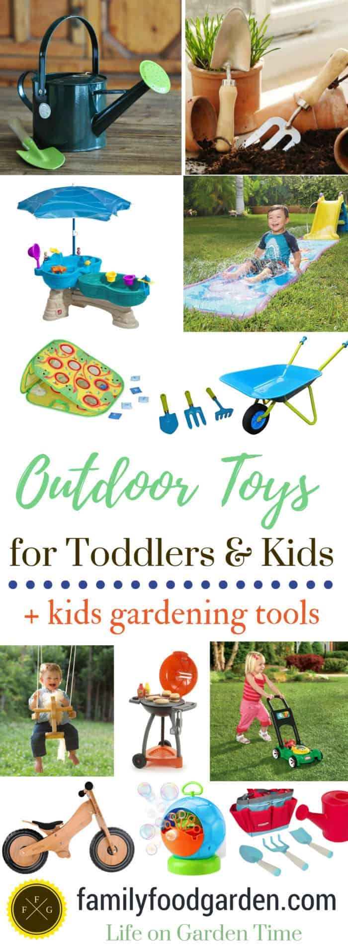 Gardening And Outdoor Toys For Toddlers And Kids Family Food Garden Recepten Hacks
