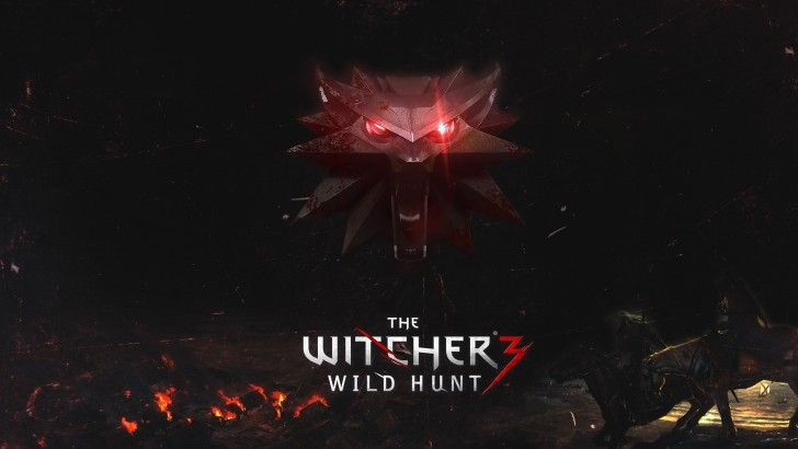 Download The Witcher 3 Wild Hunt Video Game Logo High Definition Wallpaper 1920x1080