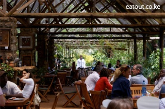 The river cafe at rosslyn river garden centre nairobi for Pool garden restaurant nairobi