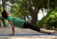 Posturas de Yoga | Postura del Plano Inclinado Poorvottanasana