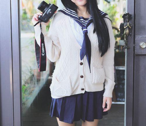 Cute Sailor Inspired Fashion.