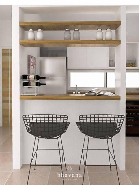 Mirá imágenes de diseños de Cocinas estilo escandinavo}: Cocina Integrada. Encontrá las mejores fotos para inspirarte y creá tu hogar perfecto.