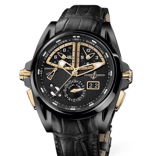 #часы #ulyssenardin #sonata #streamline les #ambassadeurs #titanium #watches