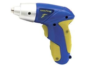 Goodyear 3.6v Cordless Electric Screwdriver