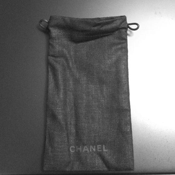 Chanel sunglass / eyeglass bag Chanel sunglass / eyeglass bag. Came with a pair of chanel sunglasses. Never used. CHANEL Accessories