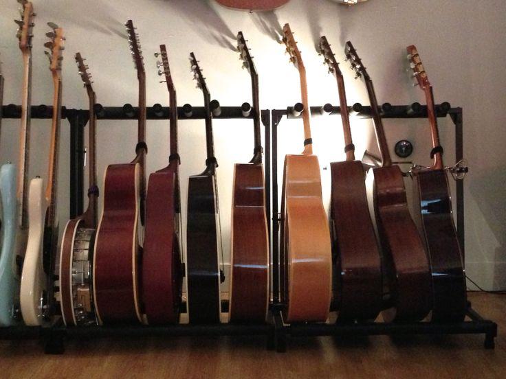 Collection de guitares !