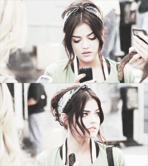 Pretty Little Liars, Aria, your head band is perf