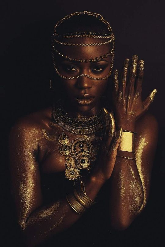 """""""Dipped In Gold"""", photography by Alex Joachim, modeling by @tabbythajaneendesigns"""