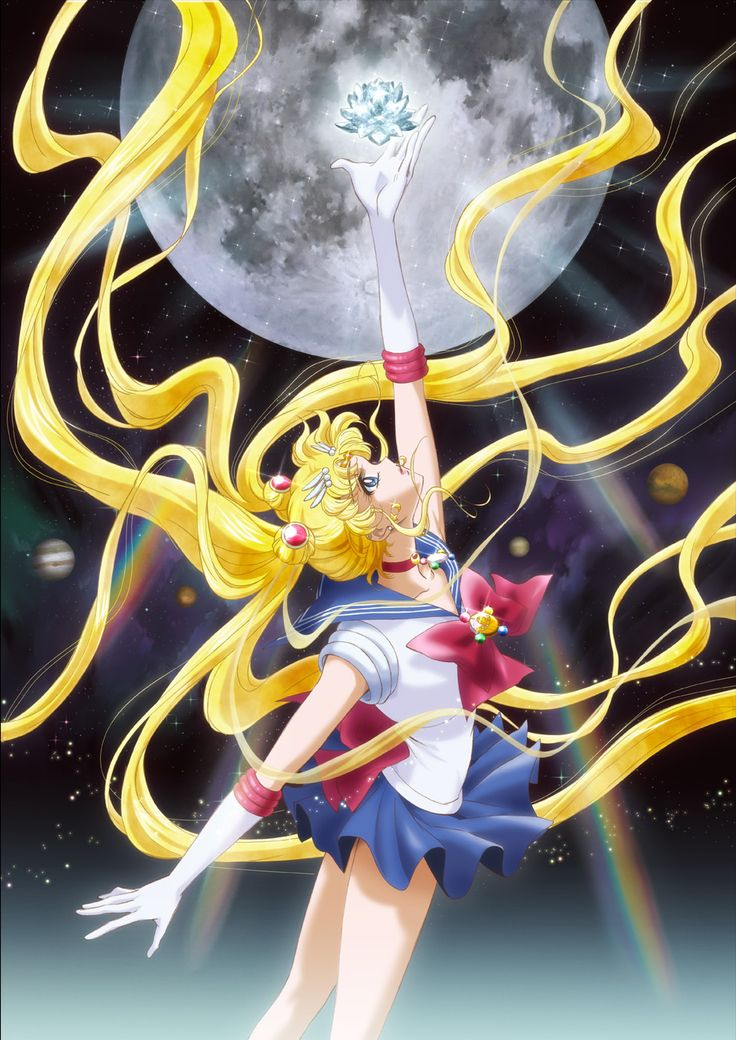 Pretty Guardian Sailor Moon Crystal (official art from the new series)