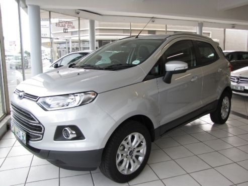 2016 Ford Ecosport 1.5 TDCi Titanium  •Now Only R 269 900 •10 539 kms           •DIESEL    •5 Speed Manual •Average of 4.5L per 100 kms •Electric windows and mirrors •Airbags •Cruise control •Bluetooth •Rear PDC •Balance of 4 years / 120 000 Factory warranty - Delivery date: August 2016 •Balance of 4 Years / 60 000 kms Service Plan •Rain sensors •Aux & USB Plugins •Front Fog Lights •Aircon with Climate Control •Steering Controls •4 Cylinders Turbo Charged 66kW •Auto…