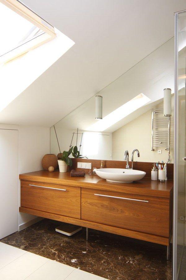 Projekt małej łazienki w nowoczesnym stylu. Łazienka na poddaszu – pomysły i inspiracje na wystrój wnętrz. Jak urządzić niewielką łazienkę.