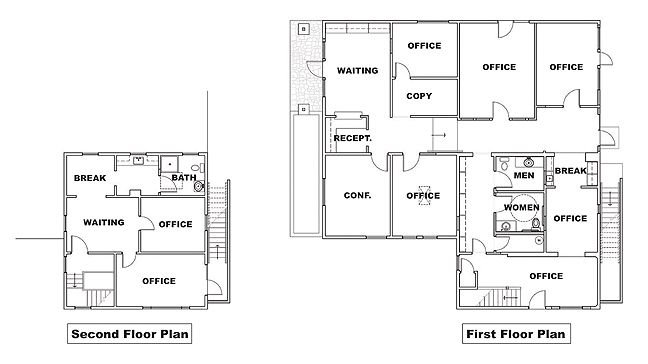 Small law office floor plan google search business for Draw office floor plan