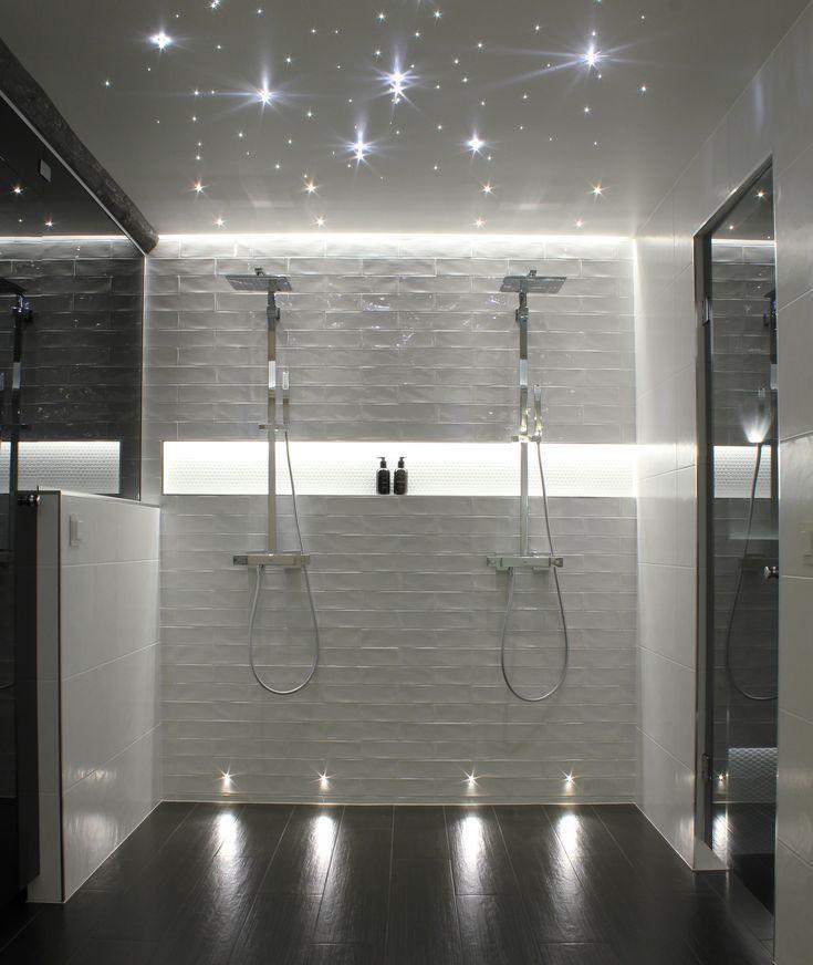 Cariitti Showroom Badezimmerbeleuchtung Indirekte Beleuchtung Sternenhimmel C Badezimme Badezimmerbeleuchtung Indirekte Beleuchtung Dusche Beleuchtung