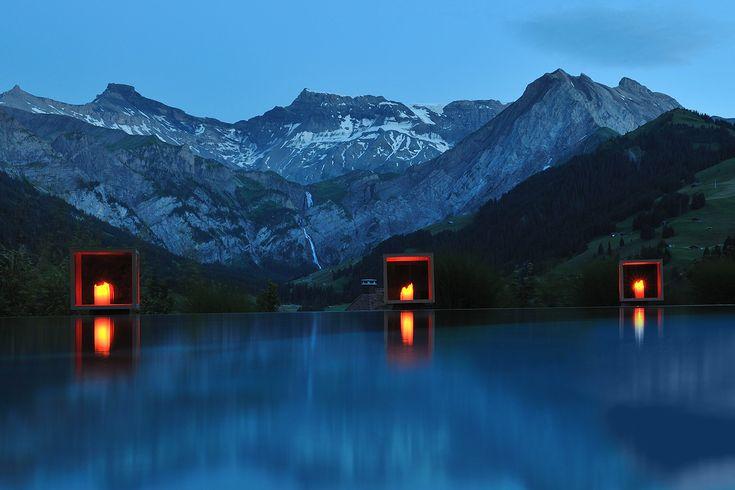 The Cambrian Hotel in Adelboden, Switzerland