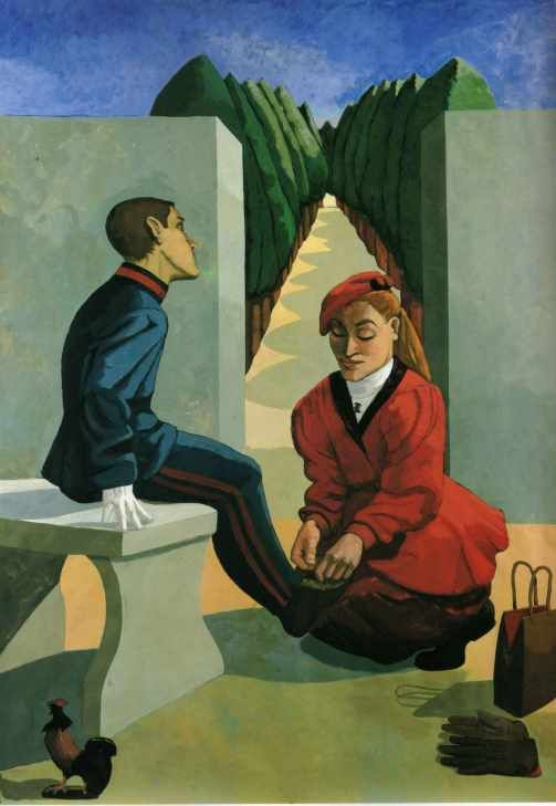 The cadet and his sister by Paula Rego.