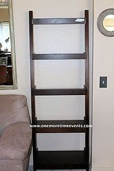 Target Ladder Bookcase Re-Purposed