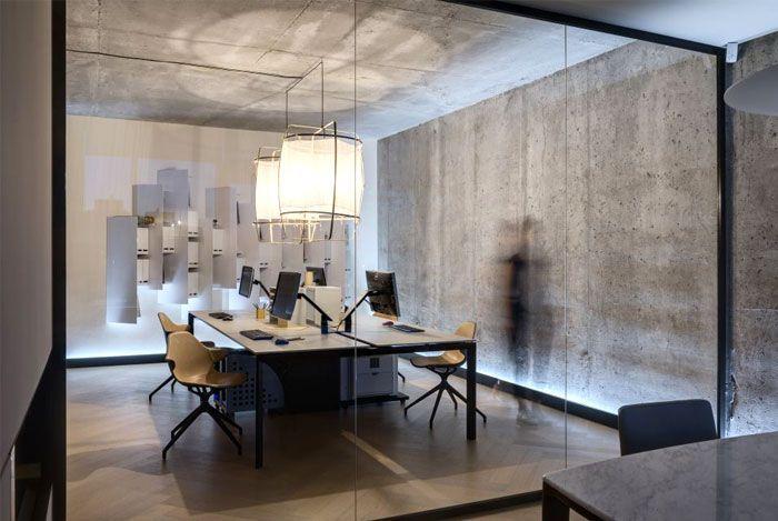 Design Studio Materia 174 Office Space Interiorzine Office Interior Design Photography Studio Spaces Office Interiors