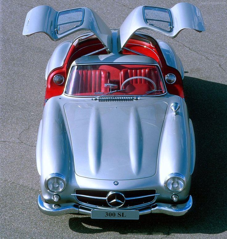 """1954 Mercedes-Benz 300 SL """"der Möwenflügel"""" – klassische Sportwagen – Kyril Negoda   – Mercedes Benz.. SL 300. Roadster…"""
