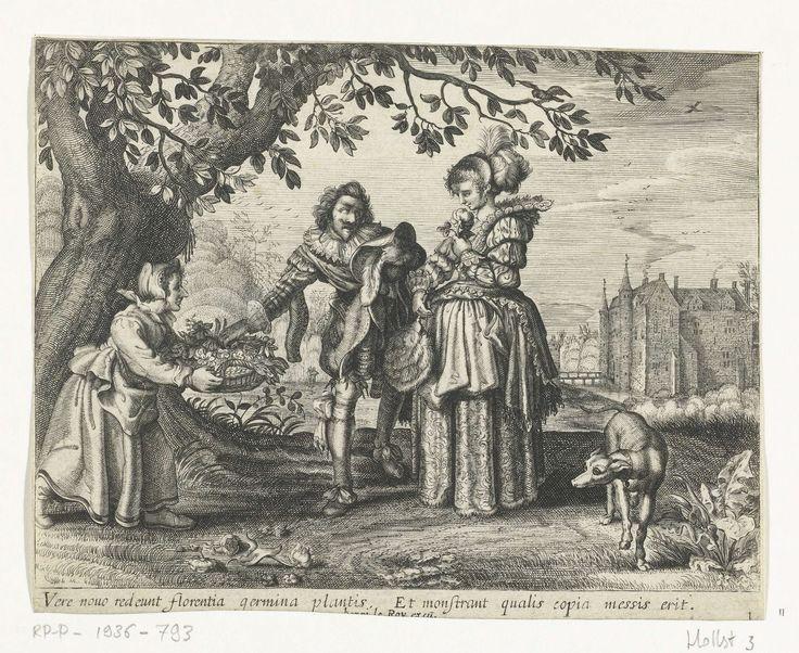 Lente, Daniël van den Bremden, 1625 - 1630