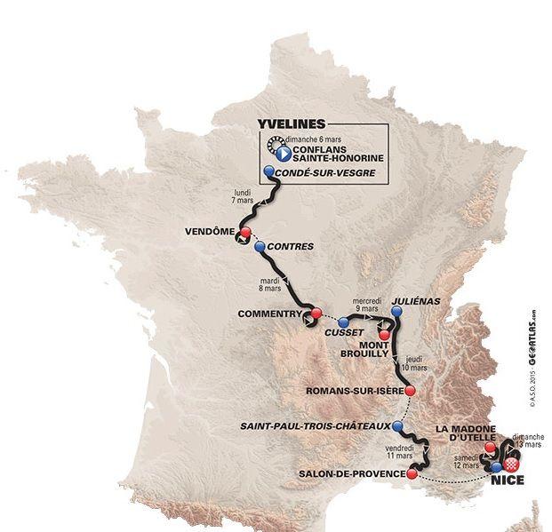 Al via la 74ª edizione della Parigi - Nizza. La corsa a tappe francese è in programma dal 6 al 13 Marzo.  Ecco le tappe, le altimetrie, i favoriti e gli orari per seguirla in tv  http://www.mondociclismo.com/ciclismo-parigi-nizza-2016-favoriti-percorso-altimetrie-e-orari-tv20160303.htm  #ParisNice #ciclismo #mondociclismo #Contador