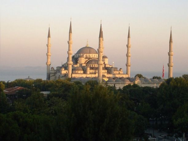 Istanbul, Istanbul, Turkey - Blue Mosque in Istanbul