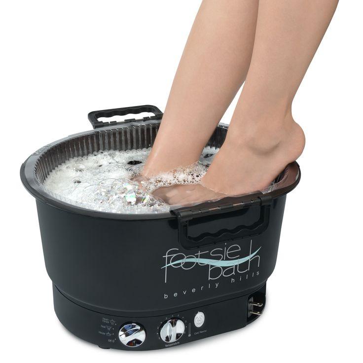 Footsie Bath available at Louella Belle #FootsieBath #Pedicure #Spa #Salon #Treatment #LouellaBelle