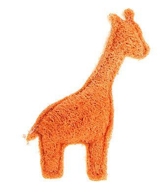 Забавный жираф форма зеленый люфой домашних собак игрушки для кошек дизайн собака чистка зубов игрушки pet chew веревка игрушки Pet