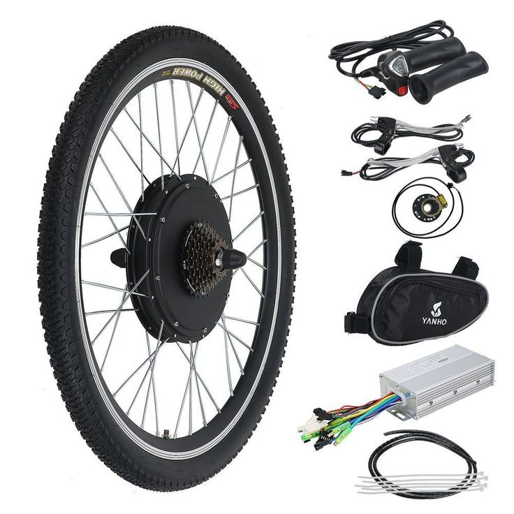 Ebike Rear Drive 500W-1000W Hub E-bike Conversion Kit Electric Bike Motor Kit