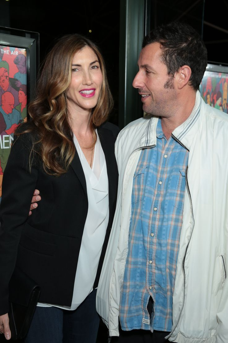 Adam Sandler and wife Jackie Sandler