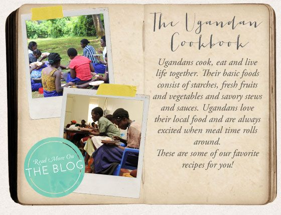 Learn Ugandan Recipes from our Women!