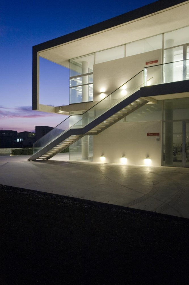 Office In Ragusa / Architrend Architecture