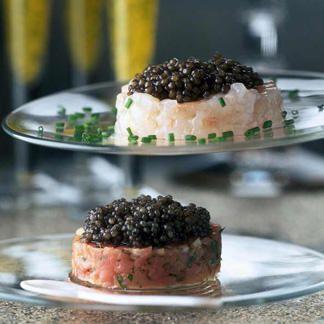 Trois impressions de caviar - une recette Russe  - Cuisine