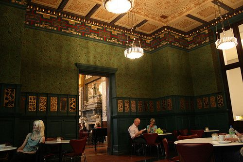 The William Morris Room at the Victoria and Albert Museum, London, England