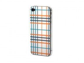 Προστατευτικό Αυτοκόλλητο για iPhone 4/4S (Streifen kariert)