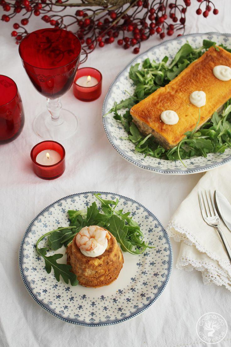 Pastel de rape y gambas al vermú o vermut www.cocinandoentreolivos.com (15)
