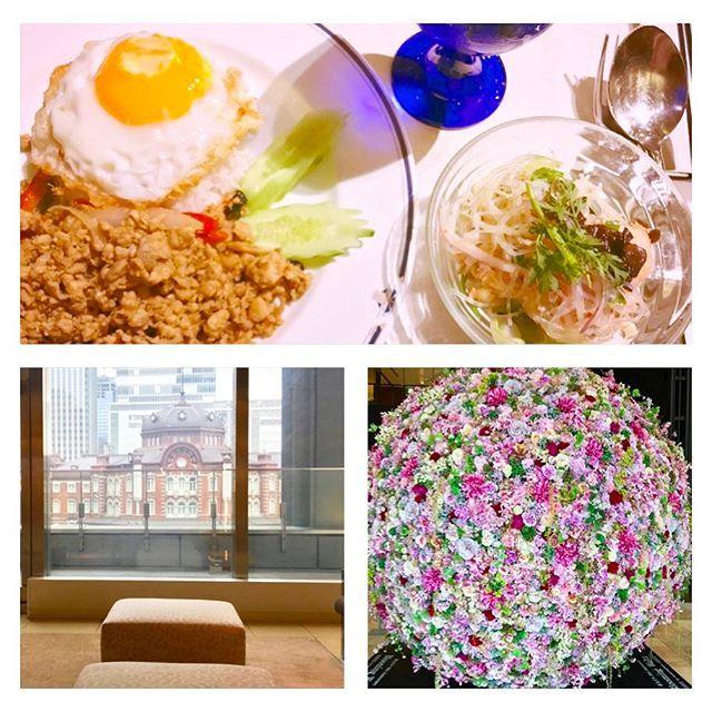 ランチ😋🍽 * * 短大時代の友人と新丸ビルでランチ😊💕 彼女がちょうど誕生日でささやかながら お祝いも出来て良かったです🎂🎉 地元の付き合いが長い友達の誕生日を 毎年こうして祝えることは幸せなことです✨ * * #ランチ #東京 #料理 #誕生日 #楽しい #風景 #景色 #lunch #tokyo #yummy #fun #holiday #station #beautiful #cute #pink #friends #goodnight #sleep