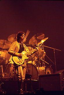 Steve Hackett performing with Genesis. Pimlico resident
