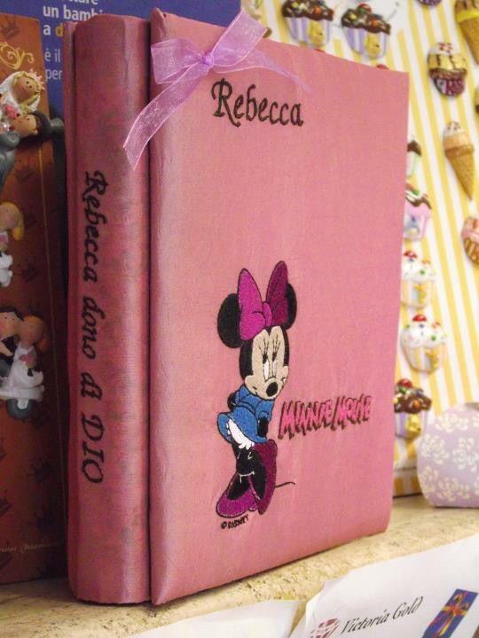 Album foto personalizzato Minnie