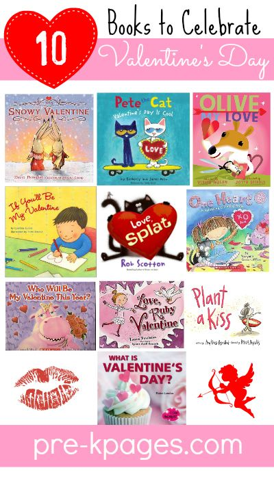 Top 10 Best Valentine's Day Picture Books for Preschool and Kindergarten