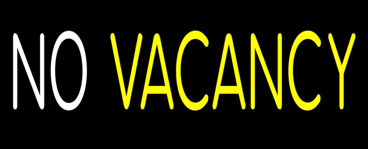 Animated White No Vacancy Neon Light 13 Tall x 32 Wide x 3 Deep, is 100% Handcrafted with Real Glass Tube Neon Sign. !!! Made in USA !!!  Colors on the sign are White and Yellow. Animated White No Vacancy Neon Light is high impact, eye catching, real glass tube neon sign. This characteristic glow can attract customers like nothing else, virtually burning your identity into the minds of potential and future customers.