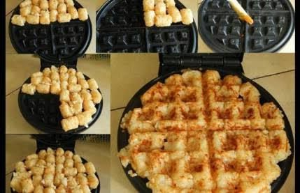 Hashbrowns - 35 Delicious Foods You Didn't Know You Could Cook in Your Waffle Iron